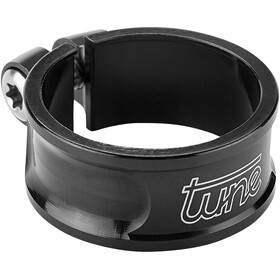 Tune Schraubwürger Collier de tige de selle Ø31,8mm, black